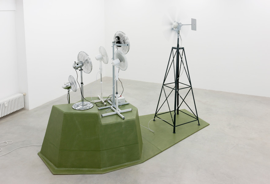 Vadim Fishkin, Don Quixote Pact, 2012. Exhibition view, Galerija Gregor Podnar, Berlin, 2012. Photo: Marcus Schneider