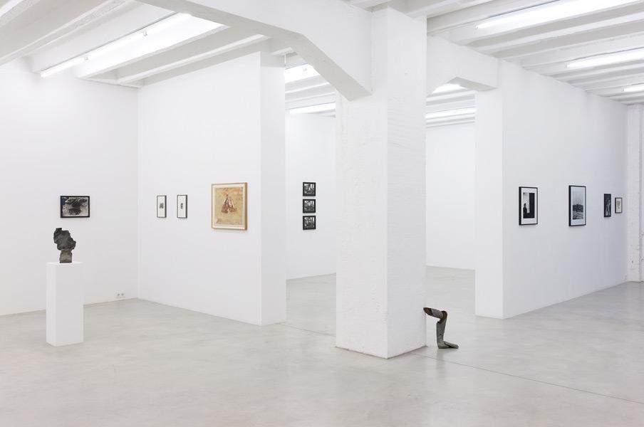 Ion Grigorescu, exhibition view, Galerija Gregor Podnar, Berlin, 2012. Photo: Photo: Marcus Schneider