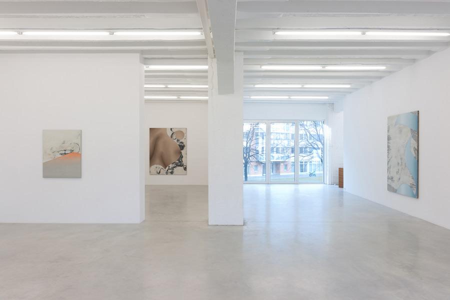 Anne Neukamp, exhibition view, Galerija Gregor Podnar, Berlin, 2012. Photo: Photo: Marcus Schneider