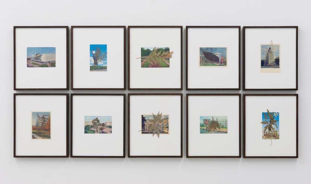 Marzena Nowak, exhibition view, Galerija Gregor Podnar, Berlin, 2012. Photo: Photo: Marcus Schneider
