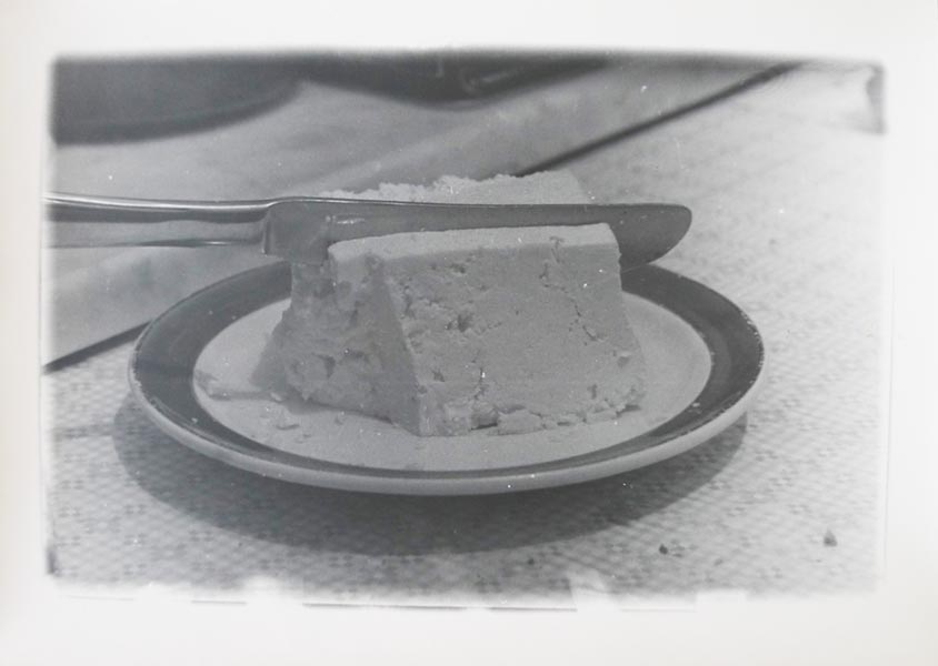 Cheese, silver print, 30 x 40 cm (unframed), 1975
