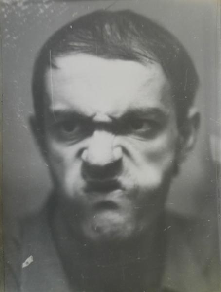 Mimicry I / Mimică I, from the series Mimicry / Mimică, vintage silver print, 39.8 x 30 cm, 1975
