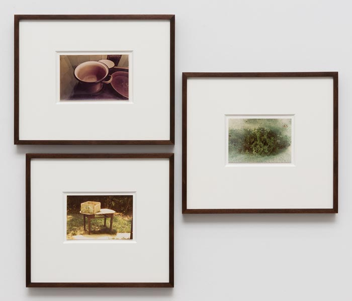Still Stands, vintage silver print, set of three, ca. 10 x 40 cm each (unframed size), 1977