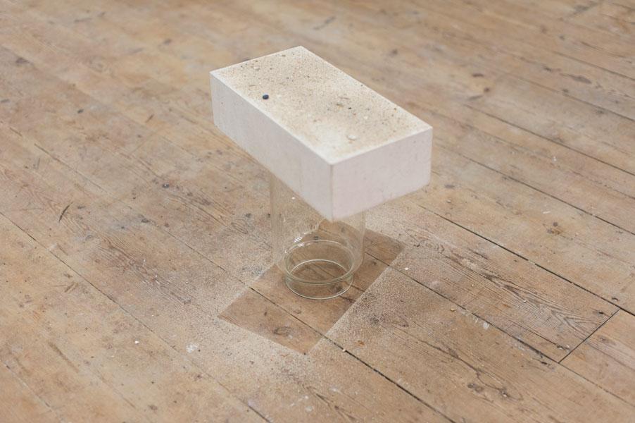 Tsae (Tesouros Submersos do Antigo Egipto) Glass, white limestone and sand, 2008