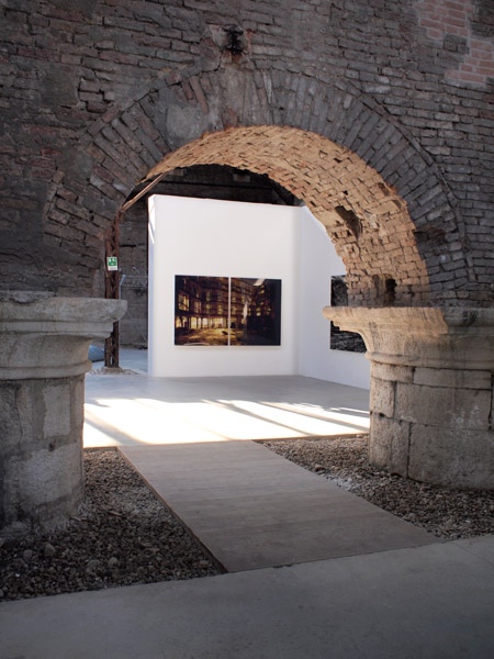 Exhibition view at the Italian Pavilion, 54th Venice Bienniale, Venice, 2011