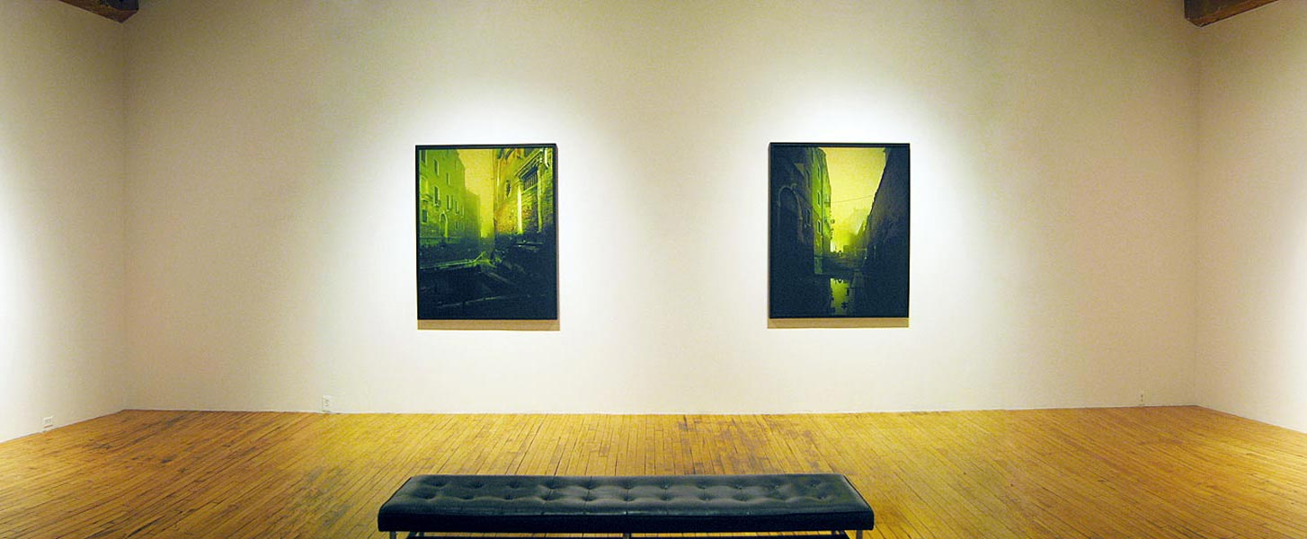 Exhibition view at Christopher Cutts Gallery, Toronto, 2007