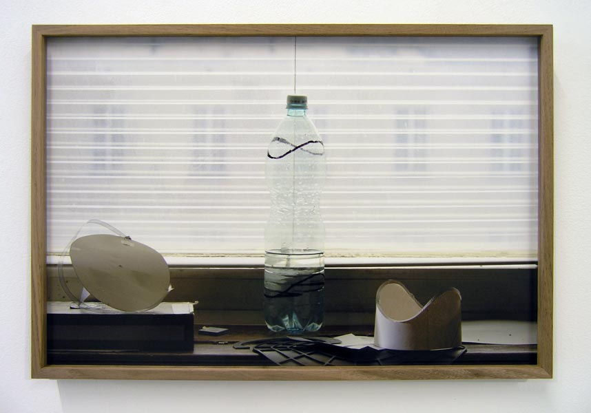 Bottle Coordinates, archival pigment print, 34.5 x 51 cm (framed), 2013