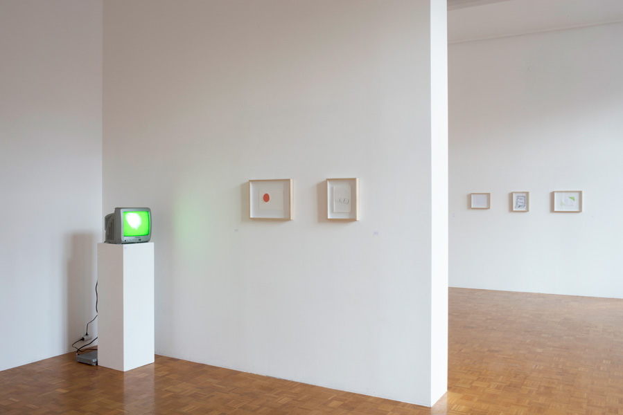 Mladen Stropnik: LET GO, exhibition view at Galerija Gregor Podnar, Ljubljana, 2013. Photo: Matija Pavlovec