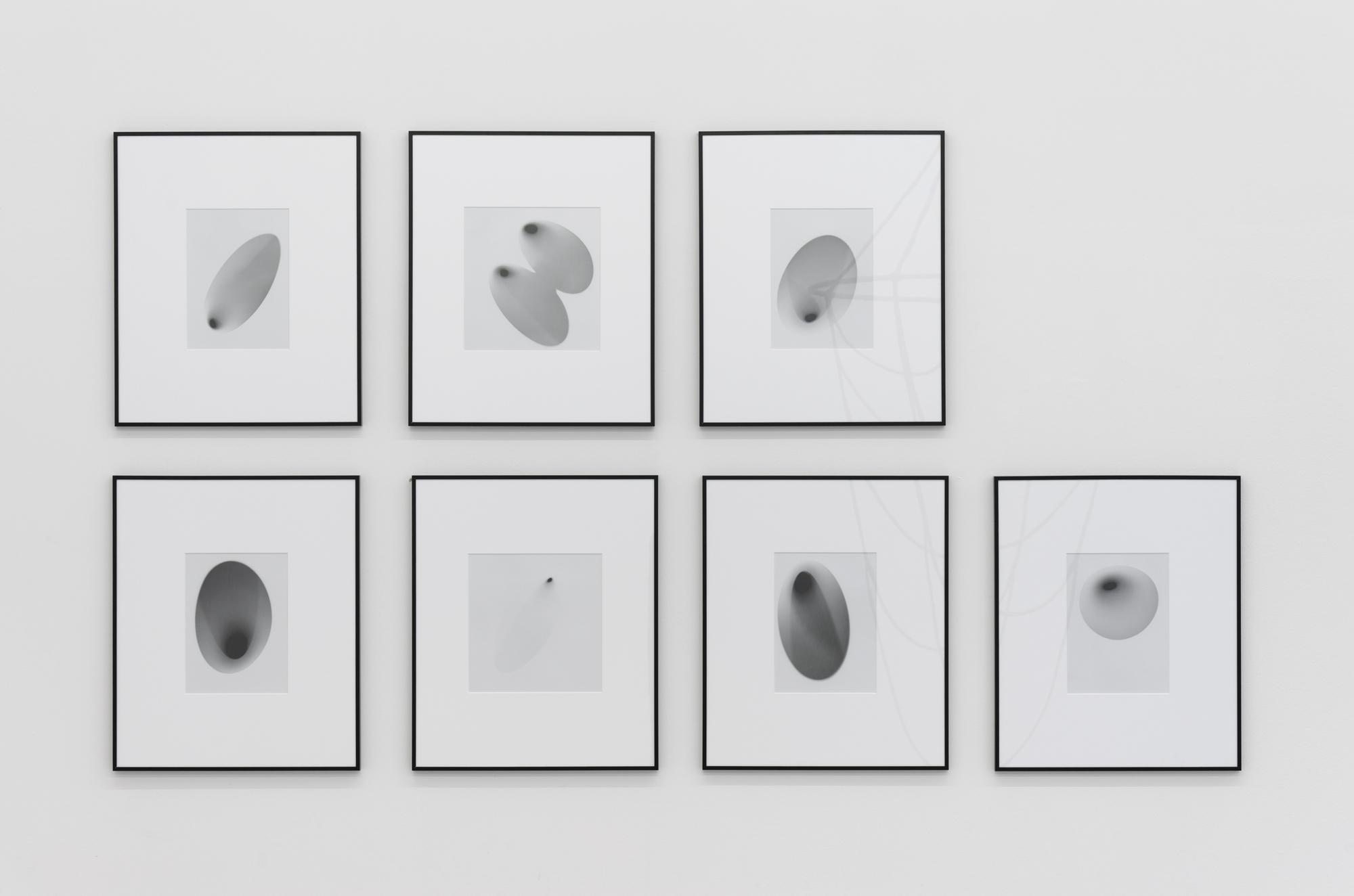 -lewk (Negative), 2013; set of seven Inkjet-Prints, 50 x 60 cm each (framed)