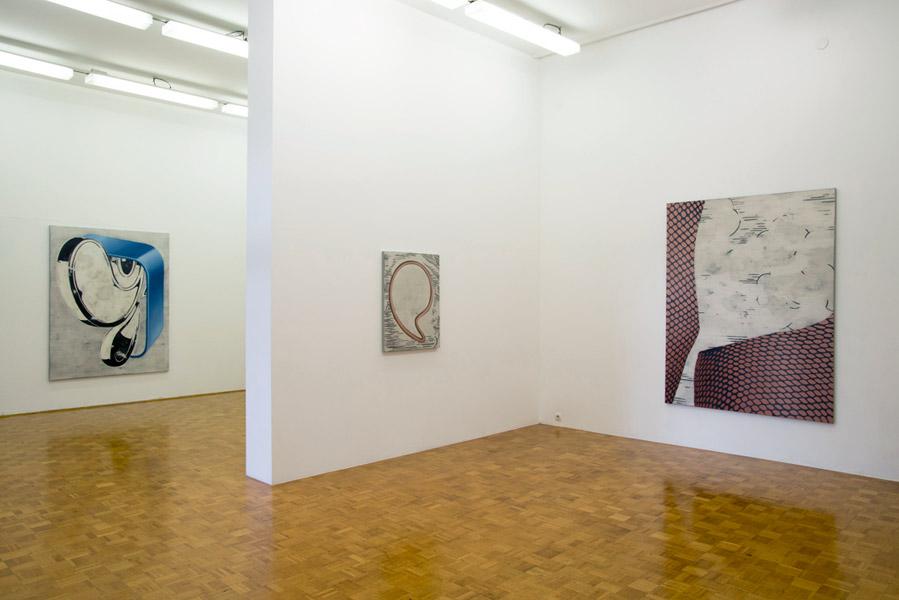 Anne Neukamp: Rezine, exhibition view, Galerija Gregor Podnar, Ljubljana, 2013. Photo: Matija Pavlovec