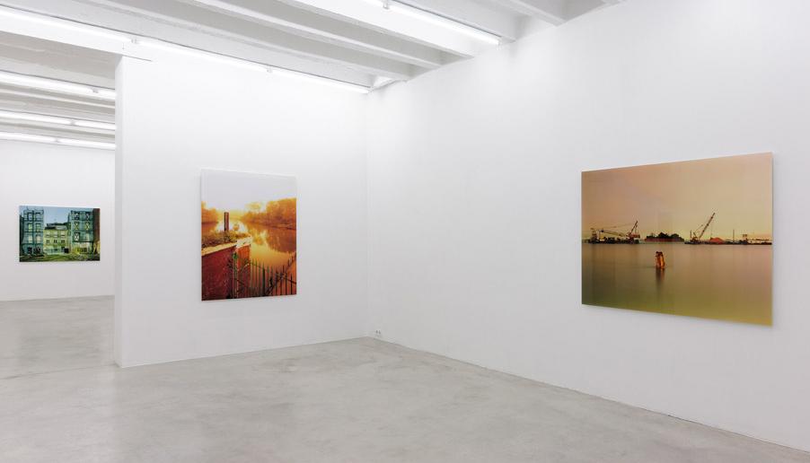 Exhibition view at Galerija Gregor Podnar, Berlin, 2014. Photo: Marcus Schneider