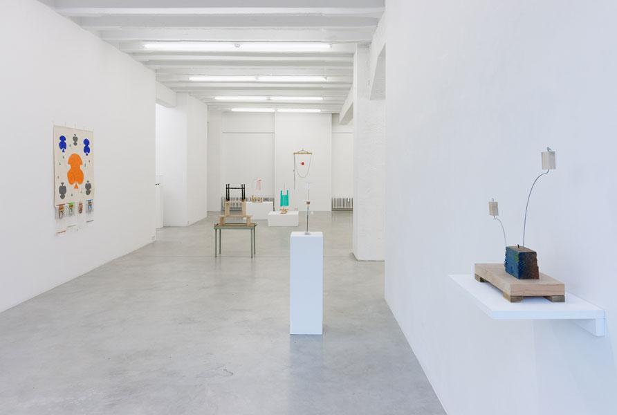 B. Wurtz, exhibition view, Galerija Gregor Podnar, Berlin, 2013. Photo: Marcus Schneider