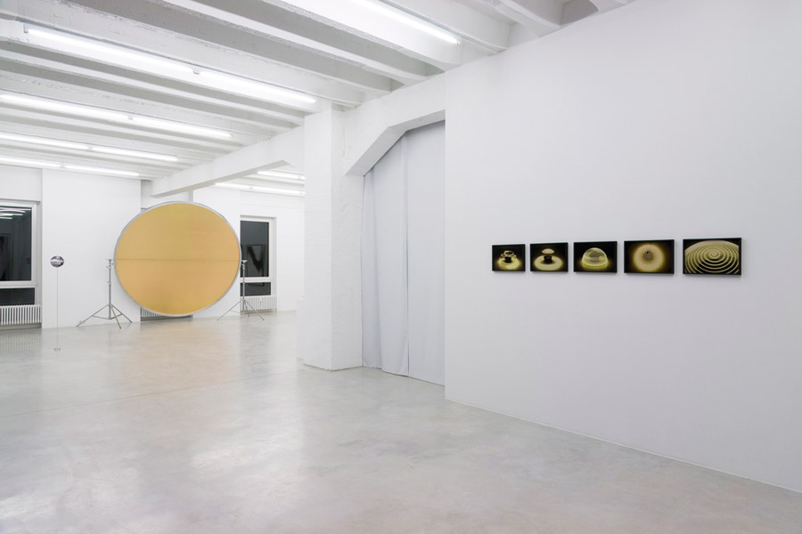 Ellipse / Eclipse, exhibition view, Galerija Gregor Podnar, Berlin, 2010. Photo: Marcus Schneider