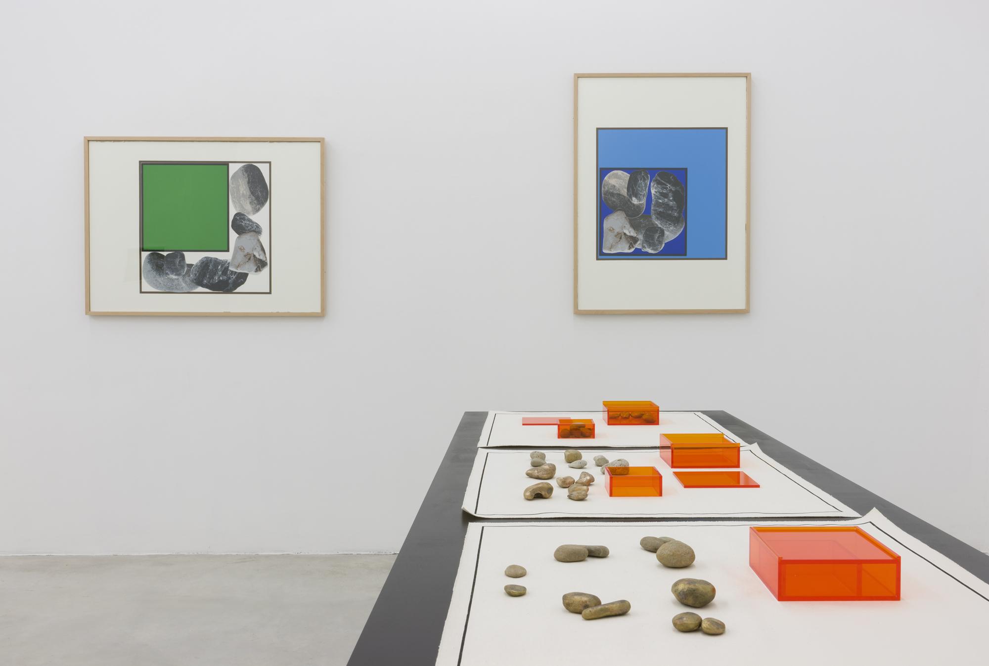 Exhibition view at Galerija Gregor Podnar, Berlin, 2015. Photo: Marcus Schneider