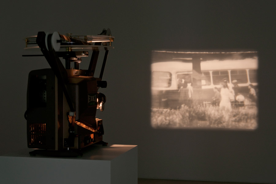 Ion Grigorescu: Oedipus the Wanderer,  exhibition view, Galerija Gregor Podnar, Berlin, 2010. Photo: Marcus Schneider