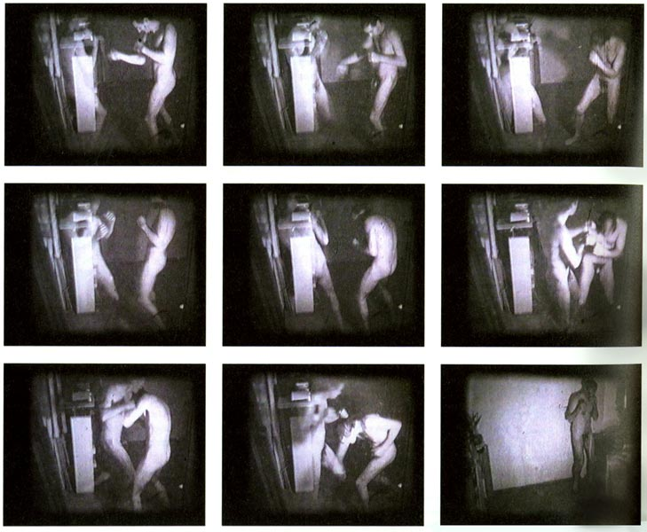 Boxing, 16mm film projection and digital version, duration: 2'27'', 1977