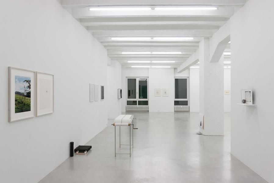 Cimento dell'armonia e dell'invenzione / The Drawing Machines, exhibition view, Galerija Gregor Podnar, Berlin, 2010. Photo: Marcus Schneider