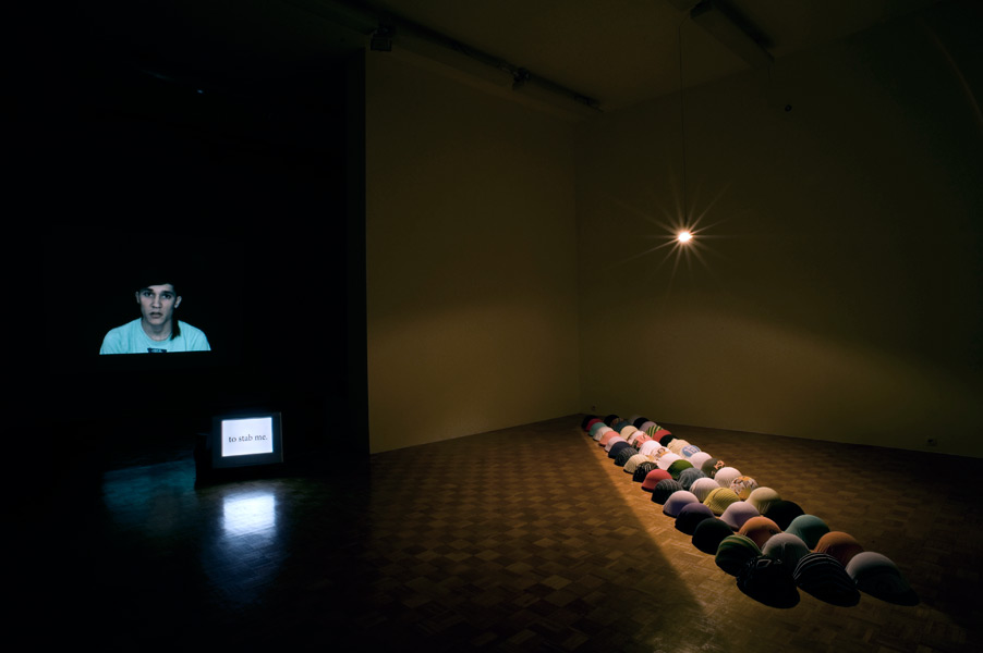 Maja Hodošček: RAW Material, exhibition view, Galerija Gregor Podnar, Ljubljana, 2010
