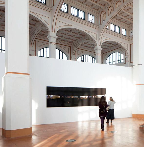 Exhibition view at Salone Degli Incanti, Trieste, 2012 for