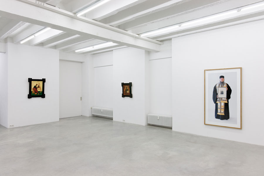 Irwin: Was ist Kunst Hugo Ball, exhibition view, Galerija Gregor Podnar, Berlin, 2013. Photo: Marcus Schneider