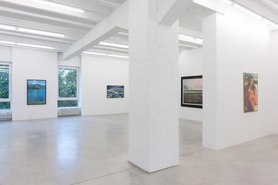 Bogoslav Kalaš: Nudes and Landscapes, exhibition view, Galerija Gregor Podnar, Berlin, 2011. Photo: Marcus Schneider