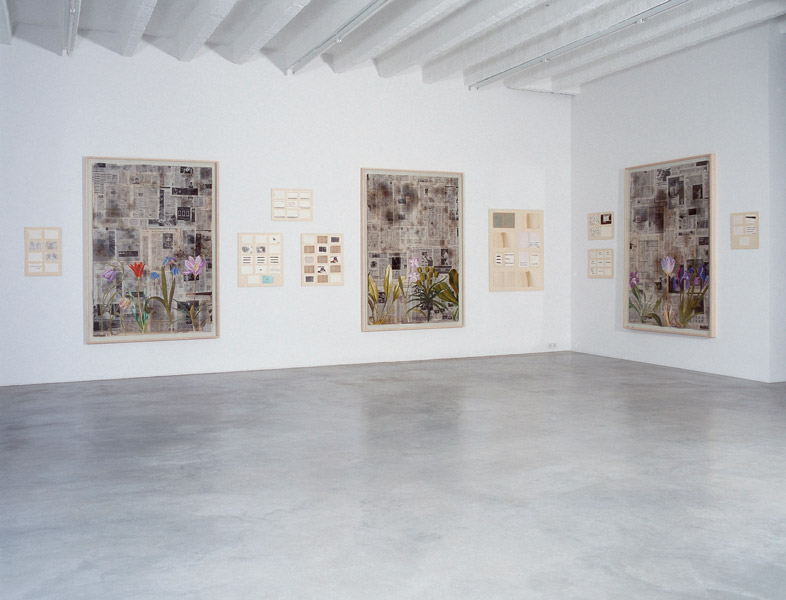 Third Millennium, exhibition view at Galerija Gregor Podnar, Berlin, 2008. Photo: Marcus Schneider