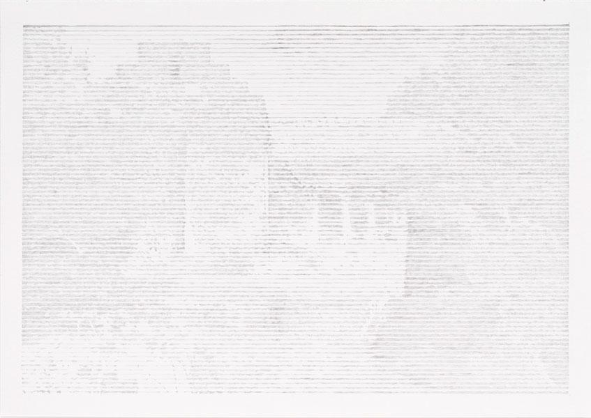My Slovenian garden, diptych, graphite on paper, 56 x 39 cm, 2011