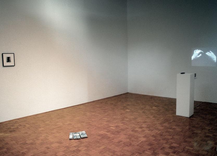 Marzena Nowak: Through, exhibition view, Galerija Gregor Podnar, Ljubljana, 2010