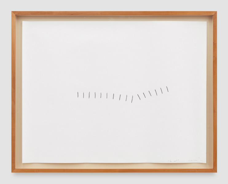 A Smidgen (1), pencil on paper, 50 x 64 cm (unframed), 1992