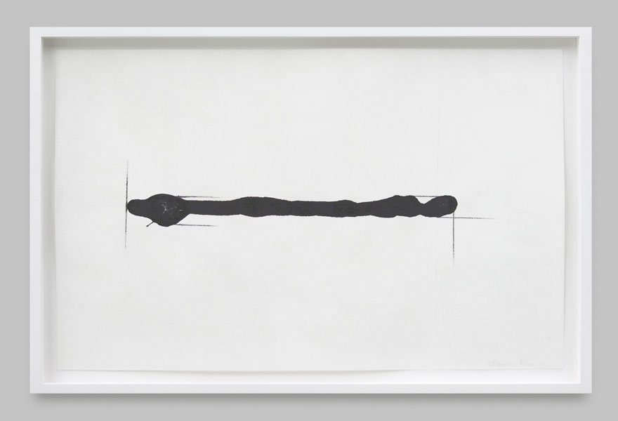 At the right angle (3), ink on paper, 36.6 x 23.5 cm, 1984