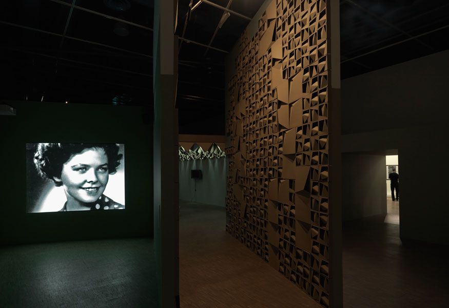 Šiška, International, mixed media installation, 2009. Exhibition view at Centre Pompidou, Espace 315, Paris, 2010