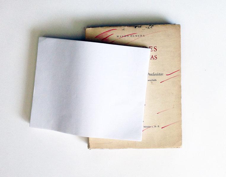 Sociedades Precapitalistas, book, paper, ca. 40 x 30 x 15 cm, 2013