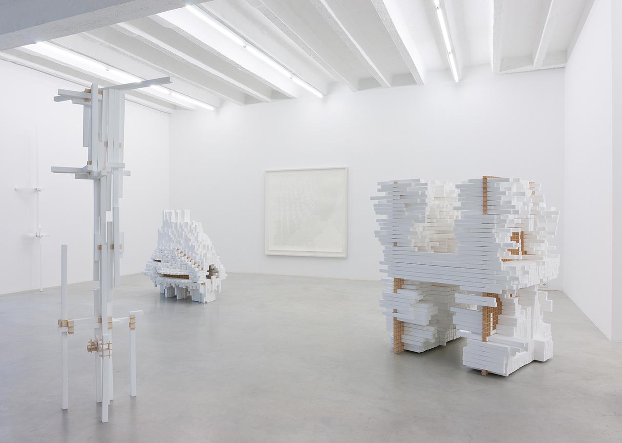 A, H, O, I, !, exhibition overview, Galerija Gregor Podnar, Berlin, 2011. Photo: Marcus Schneider