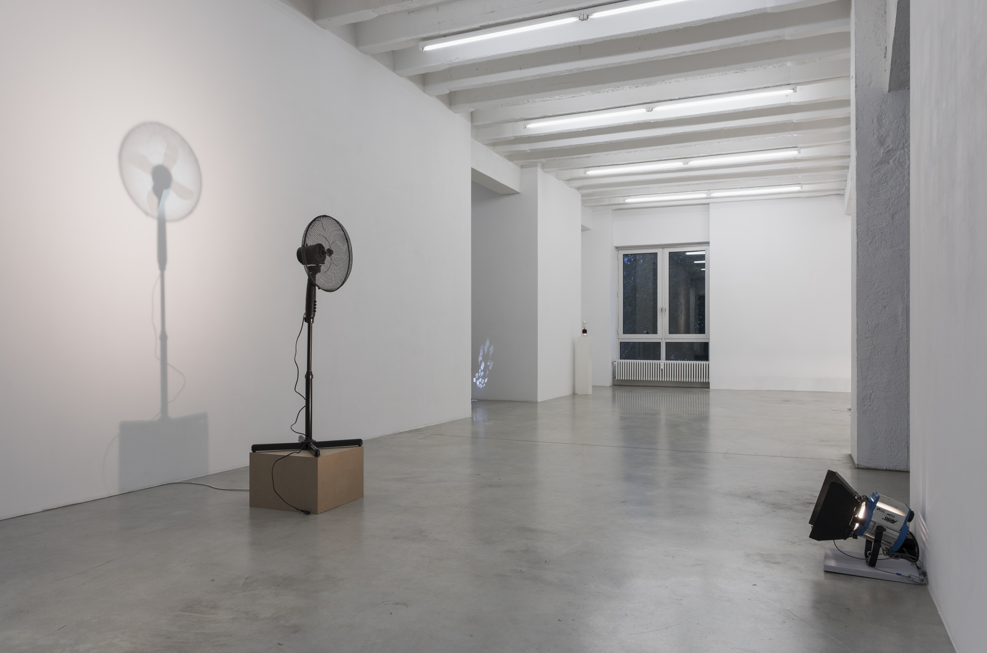 Vadim Fishkin, Light Solidarity, exhibition view, Galerija Gregor Podnar, Berlin, 2017. Photo: Marcus Schneider