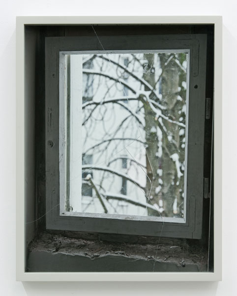 Untitled (Window), C-print, frame, 47 x 36 cm, 2013
