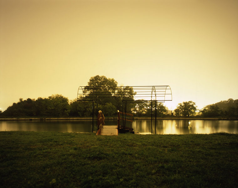 Forte Marghera No. 10, digital print, mounted on aluminum and plexiglas, 125 x 157 cm, 2006
