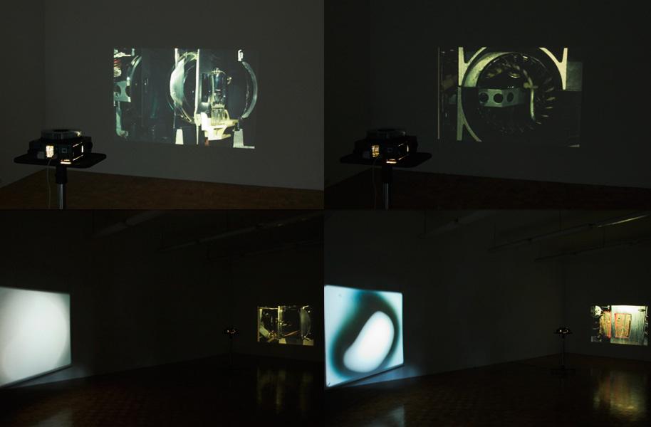 Alexander Gutke, exhibition view, Galerija Gregor Podnar, Kranj, 2005