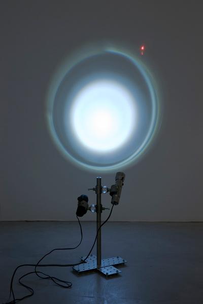 Vadim Fishkin: tour en l´air, exhibition view, Galerija Gregor Podnar, Berlin, 2009. Photo: Marcus Schneider