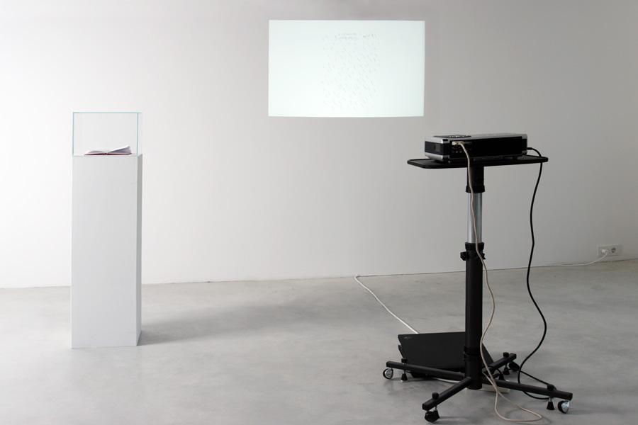 LIKE TO LIKE (I), exhibition view, Galerija Gregor Podnar, Berlin, 2007. Photo: Alain Roux