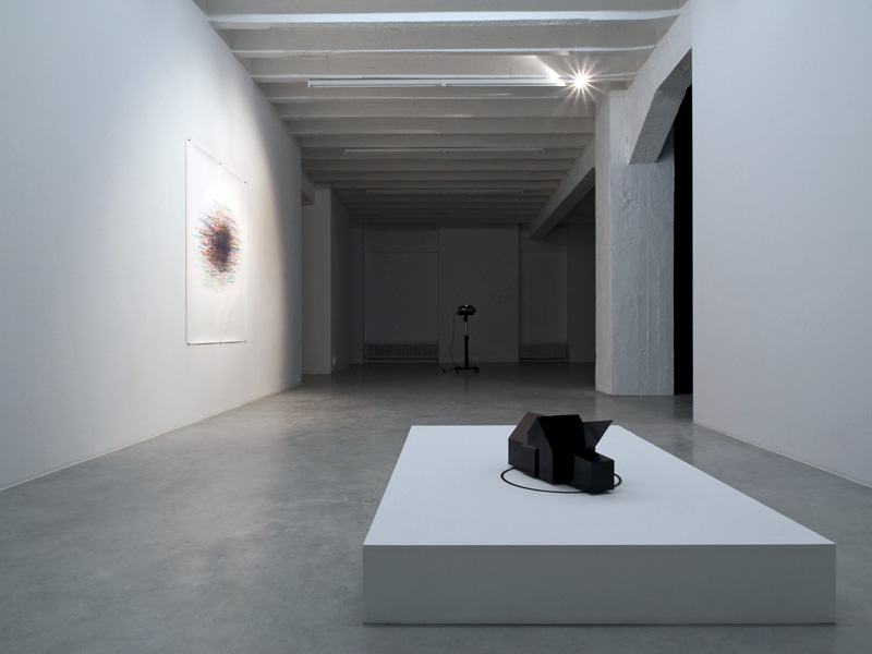 Alexander Gutke, exhibition view, Galerija Gregor Podnar, Berlin, 2008