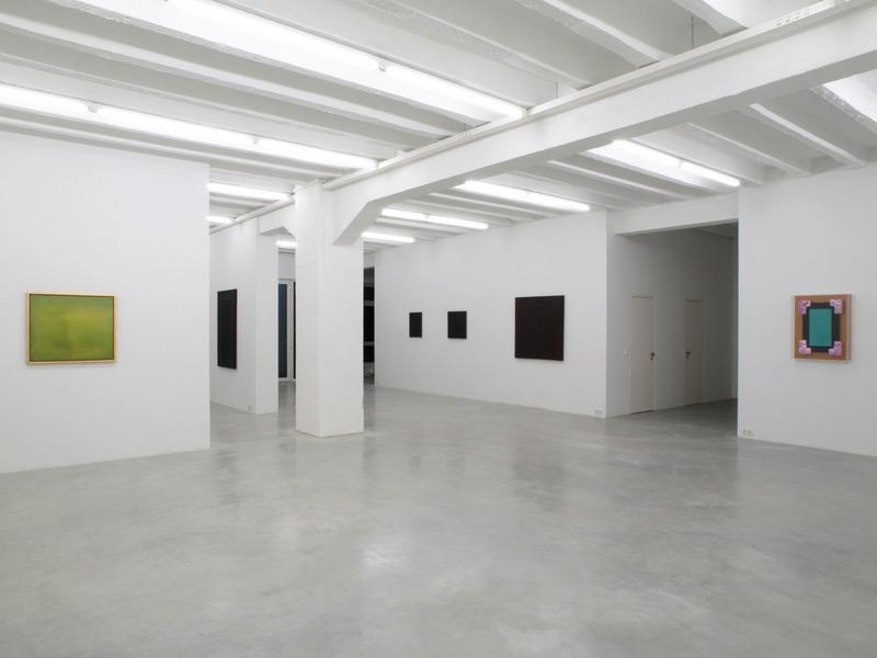 Irwin: Monochromes, exhibition view, Galerija Gregor Podnar, Berlin, 2008. Photo: Marcus Schneider