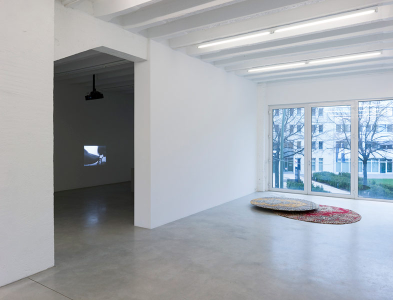 Marzena Nowak, exhibition view, Galerija Gregor Podnar, Berlin, 2009. Photo: Marcus Schneider