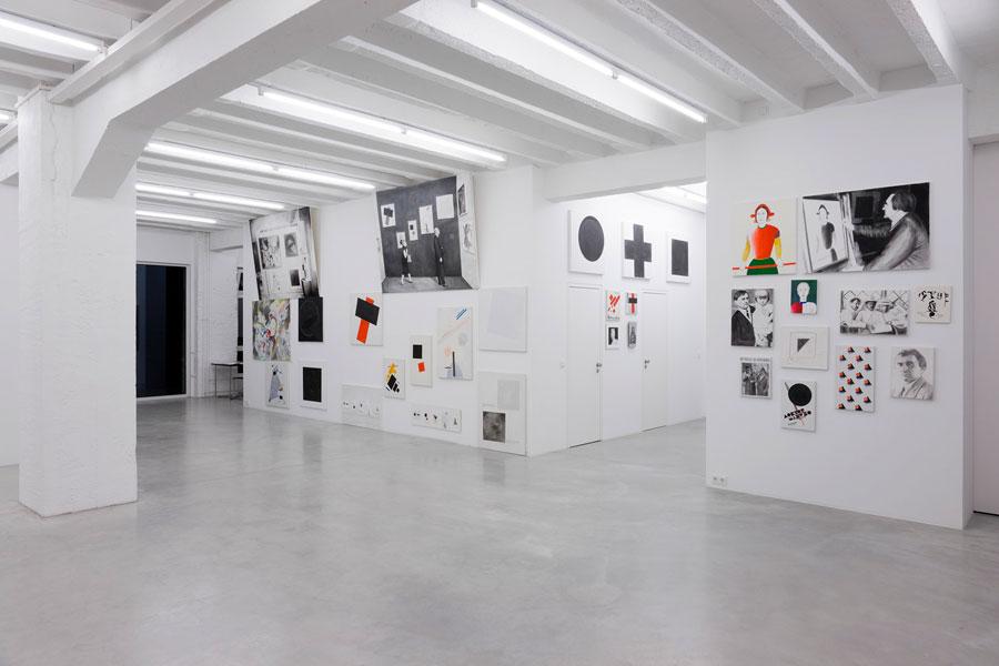 Kazimir Malevich: Autobiography, exhibition view, Galerija Gregor Podnar, Berlin, 2009. Photo: Marcus Schneider