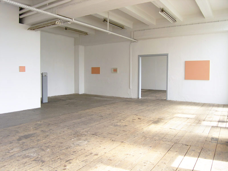 Nika Špan: The Big Sleep, exhibition view, Galerija Gregor Podnar, Kranj, 2005