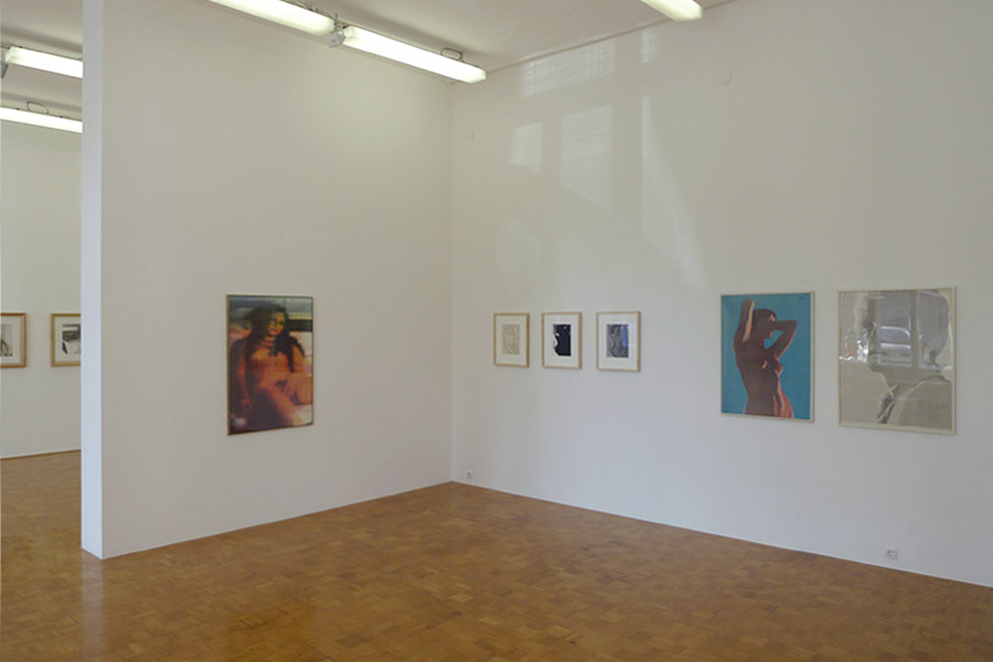Bogoslav Kalaš: Nudes and Landscapes, exhibition view, Galerija Gregor Podnar, Ljubljana, 2009
