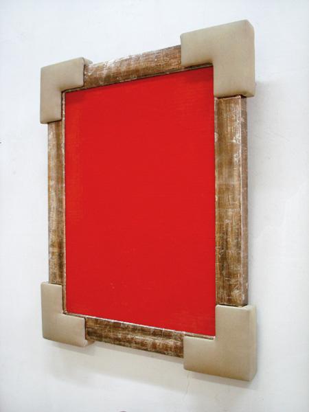 Irwin (Miran Mohar): Red Monochrome, exhibition view, Galerija Gregor Podnar, Ljubljana, 2007
