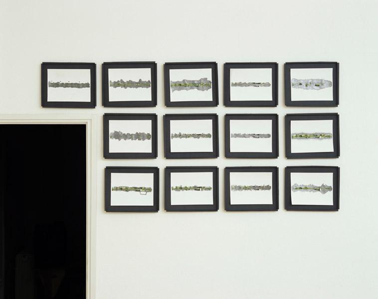 Tobias Putrih: A Place by Two, exhibition view, Galerija Gregor Podnar, Ljubljana, 2006