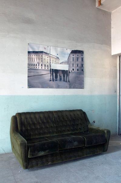 Nothingness, exhibition view, Galerija Gregor Podnar, Kranj, 2005