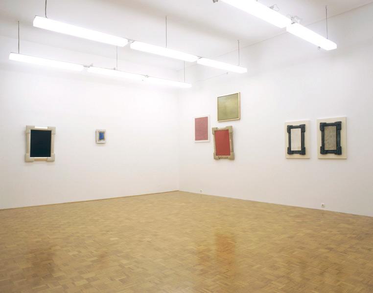 Irwin: Monochromes, exhibition view, Galerija Gregor Podnar, Ljubljana, 2007