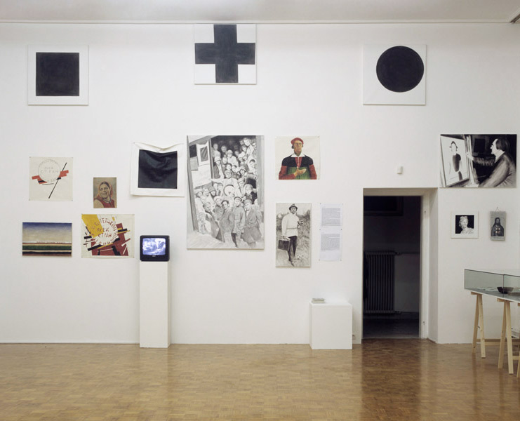 Kazimir Malevich: Autobiography, exhibition view, Galerija Gregor Podnar, Ljubljana, 2008